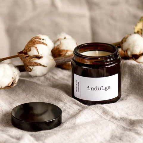 Indulge Amber Jar Candle