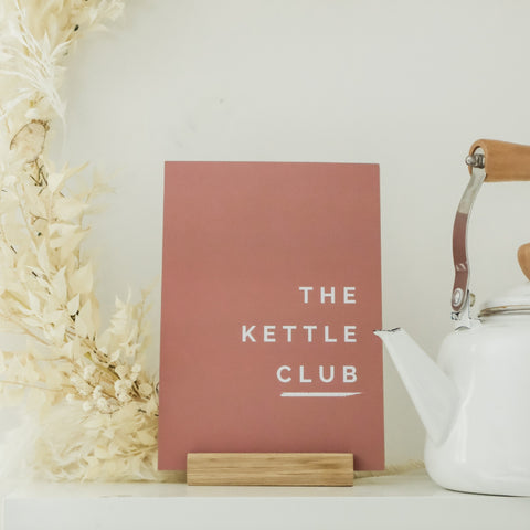 The Kettle Club A5 Print