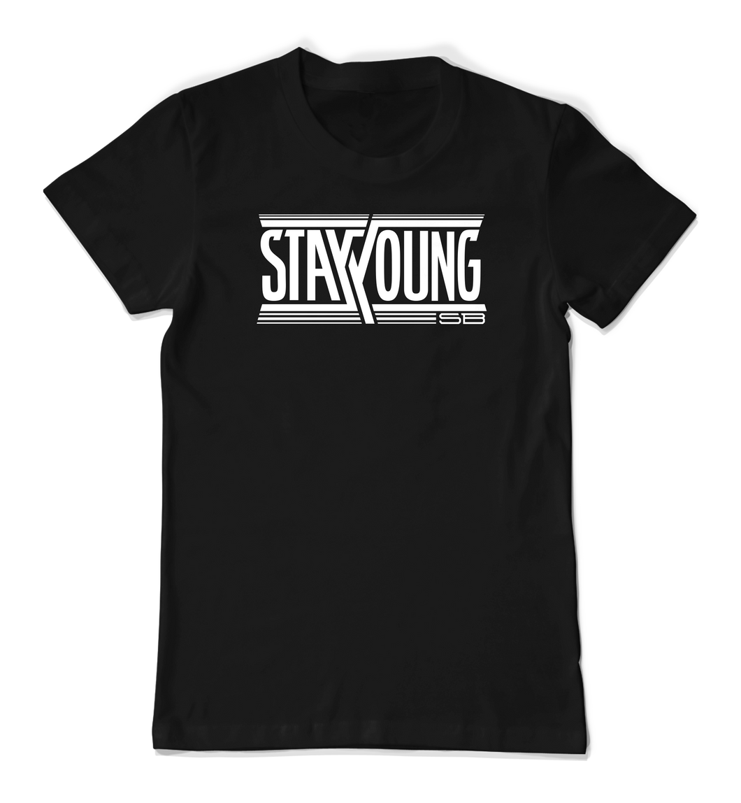Stay Young SB Team Logo - Black