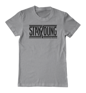 Stay Young SB Team Logo - Gray