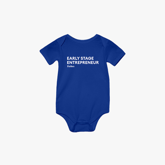 Forbes Early Stage Entrepreneur Onesie