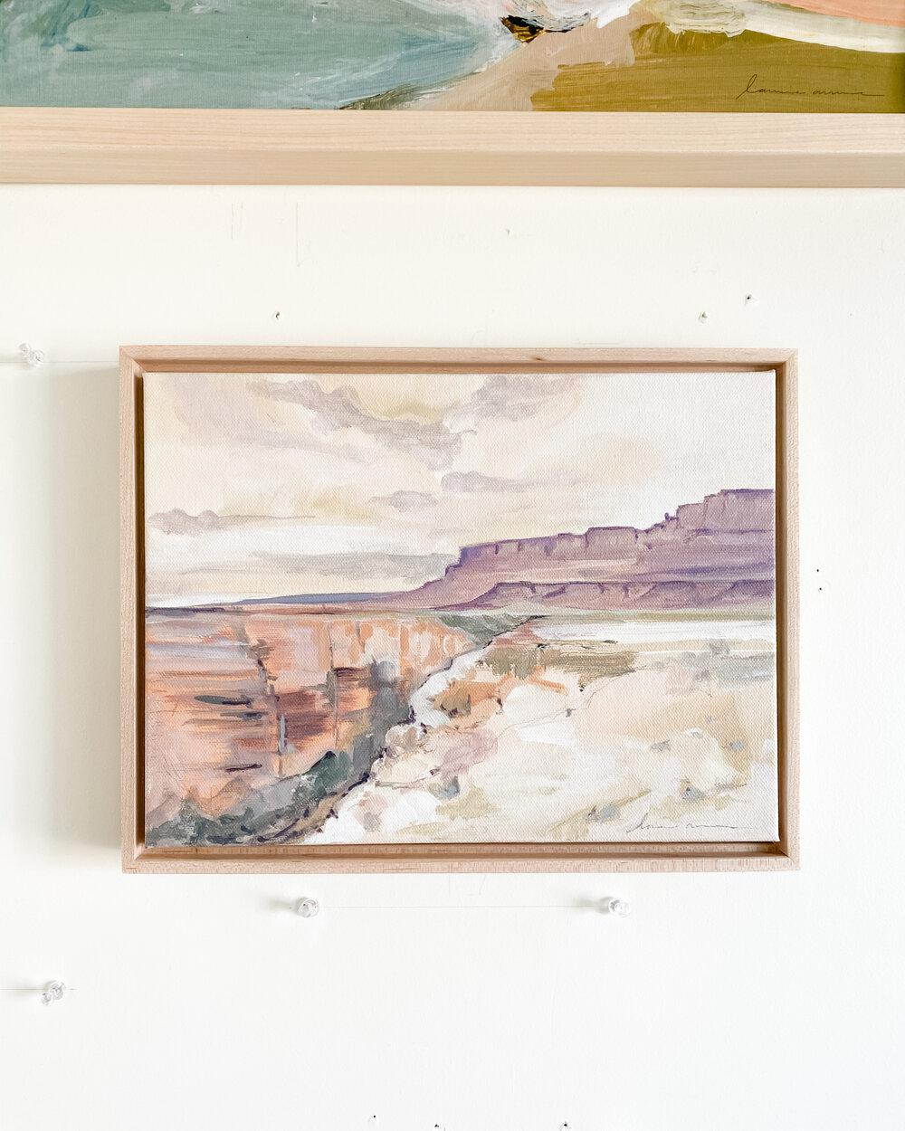 Marble Canyon Framed Original Painting 9x12