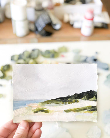 Tiny Beach Landscape