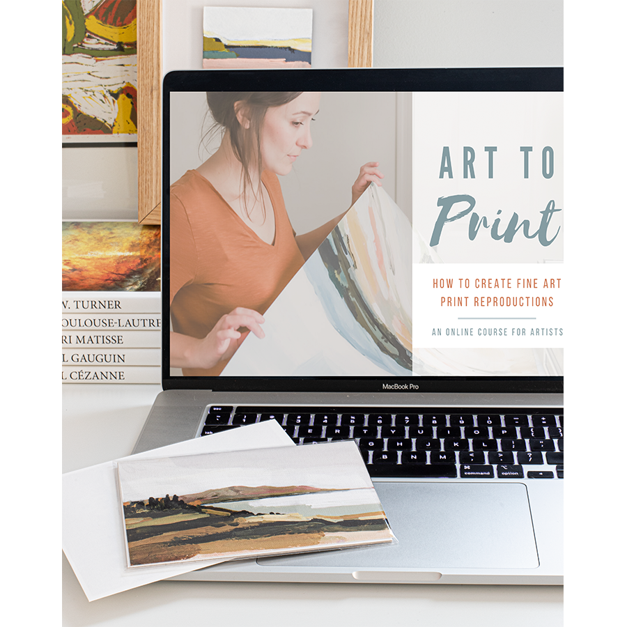 Art to Print Course Gift Special