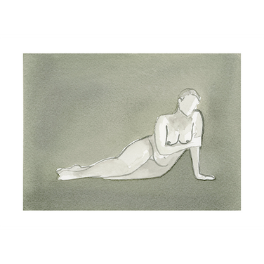 """Grey Lady"" Limited Edition Print 5x7"