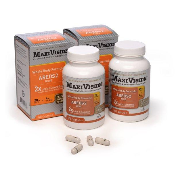 Bottles and Boxes of MaxiVision