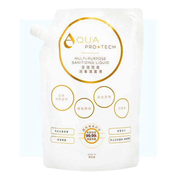 【Aqua Pro+Tech】Eco-Friendly Refill Pack(1000ml)