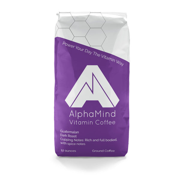 AlphaMind Vitamin Coffee, Dark Guatemalan Bag