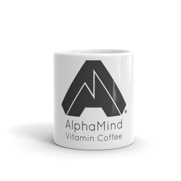 AlphaMind Vitamin Coffee Branded Mug