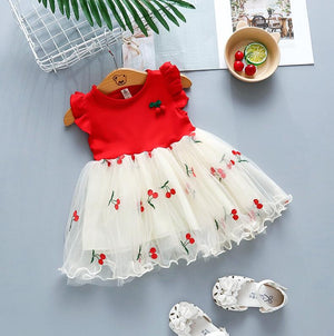 Open image in slideshow, The Cherry Tutu Dress