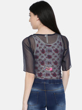 Load image into Gallery viewer, Permanent Pleated Short Shrug With Lace Trim