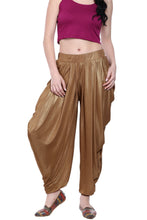 Load image into Gallery viewer, SHIMMER KNITTED PLEATED PATIALA - GOLD