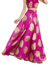 Load image into Gallery viewer, Souq Central Rose Printed Reversible Skirt