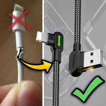 Load image into Gallery viewer, Titan Unbreakable Fast Charging Cable