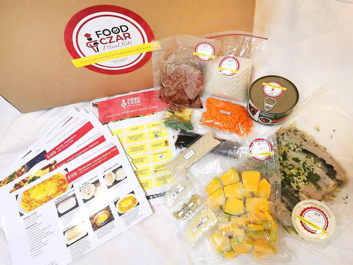 Meal kits, baking needs and gourmet grocery delivery made easy