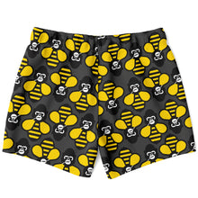 Load image into Gallery viewer, Gorilla Bee Swim Trunks