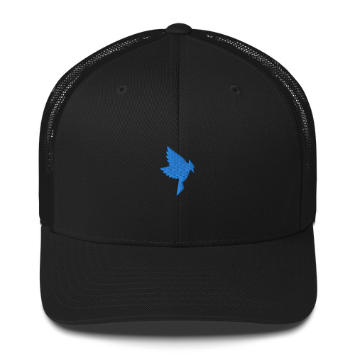 Black Trucker - Blue J Cones