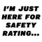 Safety Rating Sticker