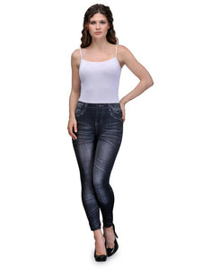Fashion Stretchable Jegging in Denim - Tee-Zoo