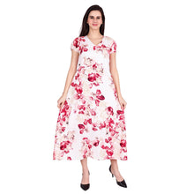 Load image into Gallery viewer, Floral Printed Long Maxi Dress - Tee-Zoo