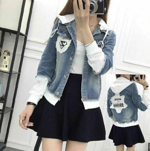 Denim Jackets For Women's - Tee-Zoo
