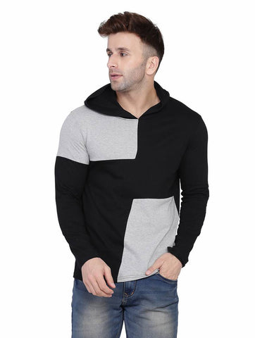 Exclusive Multicoloured Cotton Colourblocked Hooded Tees - Tee-Zoo