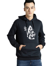Load image into Gallery viewer, Full Sleeve SHIVAN Print Hooded Sweatshirt For Mens - Tee-Zoo