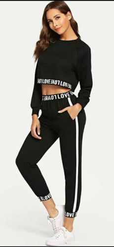 Women's Active Wear With Crop Top - Tee-Zoo