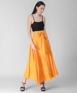 Women's Yellow Skirt - Tee-Zoo