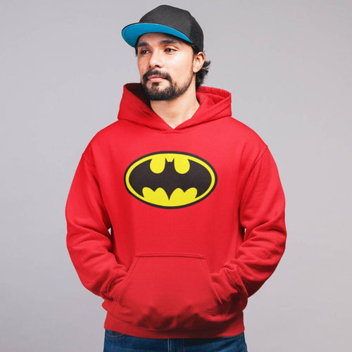 Batman Cotton Hoodie - Tee-Zoo