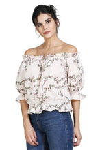 Load image into Gallery viewer, Women's Stylish and Trendy Georgette Top - Tee-Zoo