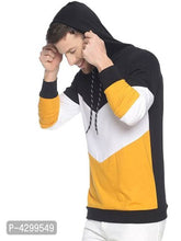 Load image into Gallery viewer, Men's Multicoloured Cotton Colourblocked Hooded Tees - Tee-Zoo