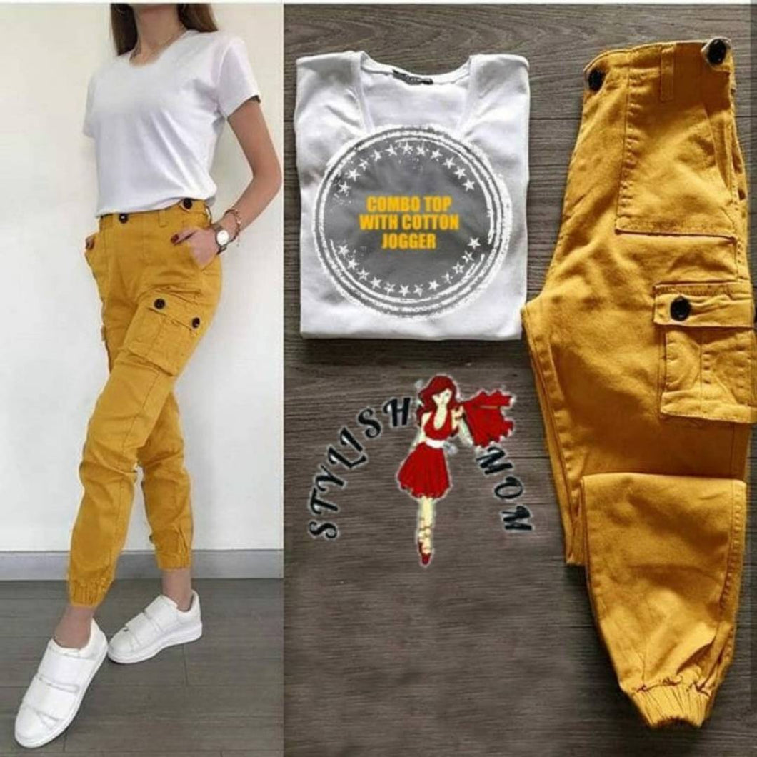 JOGGER PANT WITH T-SHIRT SET - Tee-Zoo