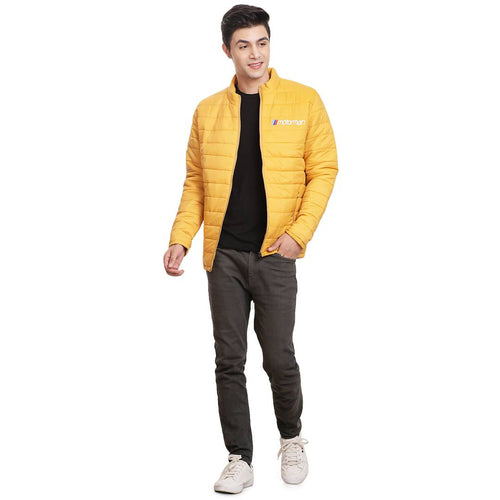 Stylish Casual Yellow Jacket For Men - Tee-Zoo