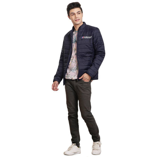 Stylish Casual Blue Jacket For Men - Tee-Zoo