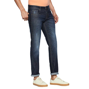 Multicoloured Denim Stretch Slim Fit Jeans For Men's - Tee-Zoo