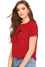Load image into Gallery viewer, women cotton t-shirt - Tee-Zoo