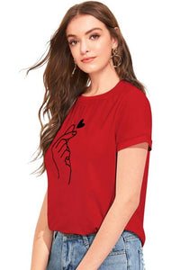 women cotton t-shirt - Tee-Zoo