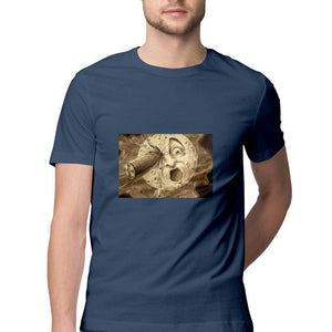 A Trip To The Moon - Short-Sleeve Men's T-Shirt - Tee-Zoo