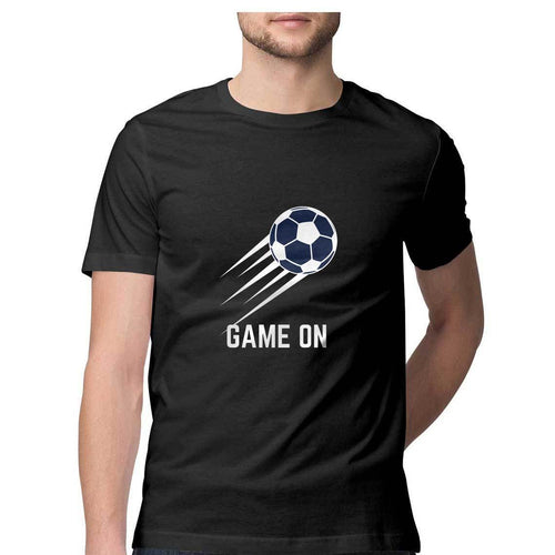 Football Game On - Short-Sleeve Men's T-Shirt - Tee-Zoo