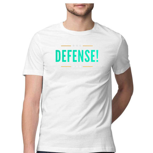 Football Defense - Short-Sleeve Men's T-Shirt - Tee-Zoo