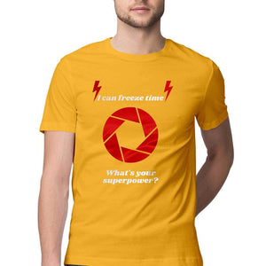 Photography Superpower - Short-Sleeve Men's T-Shirt - Tee-Zoo
