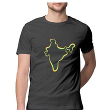 Load image into Gallery viewer, India Map - Short-Sleeve Men's T-Shirt - Tee-Zoo