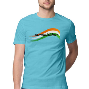 Atmanirbhar - Short-Sleeve Men's T-Shirt - Tee-Zoo