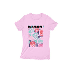 Wanderlust - Short-Sleeve Women's T-Shirt - Tee-Zoo