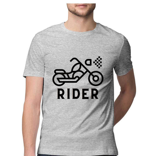 Bike Rider - Short-Sleeve Men's T-Shirt - Tee-Zoo
