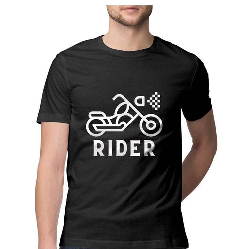 Bike Rider 101 - Short-Sleeve Men's T-Shirt - Tee-Zoo