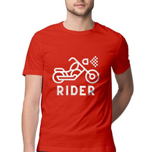 Load image into Gallery viewer, Bike Rider 101 - Short-Sleeve Men's T-Shirt - Tee-Zoo