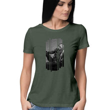 Load image into Gallery viewer, Biker Girl - Short-Sleeve Women's T-Shirt - Tee-Zoo