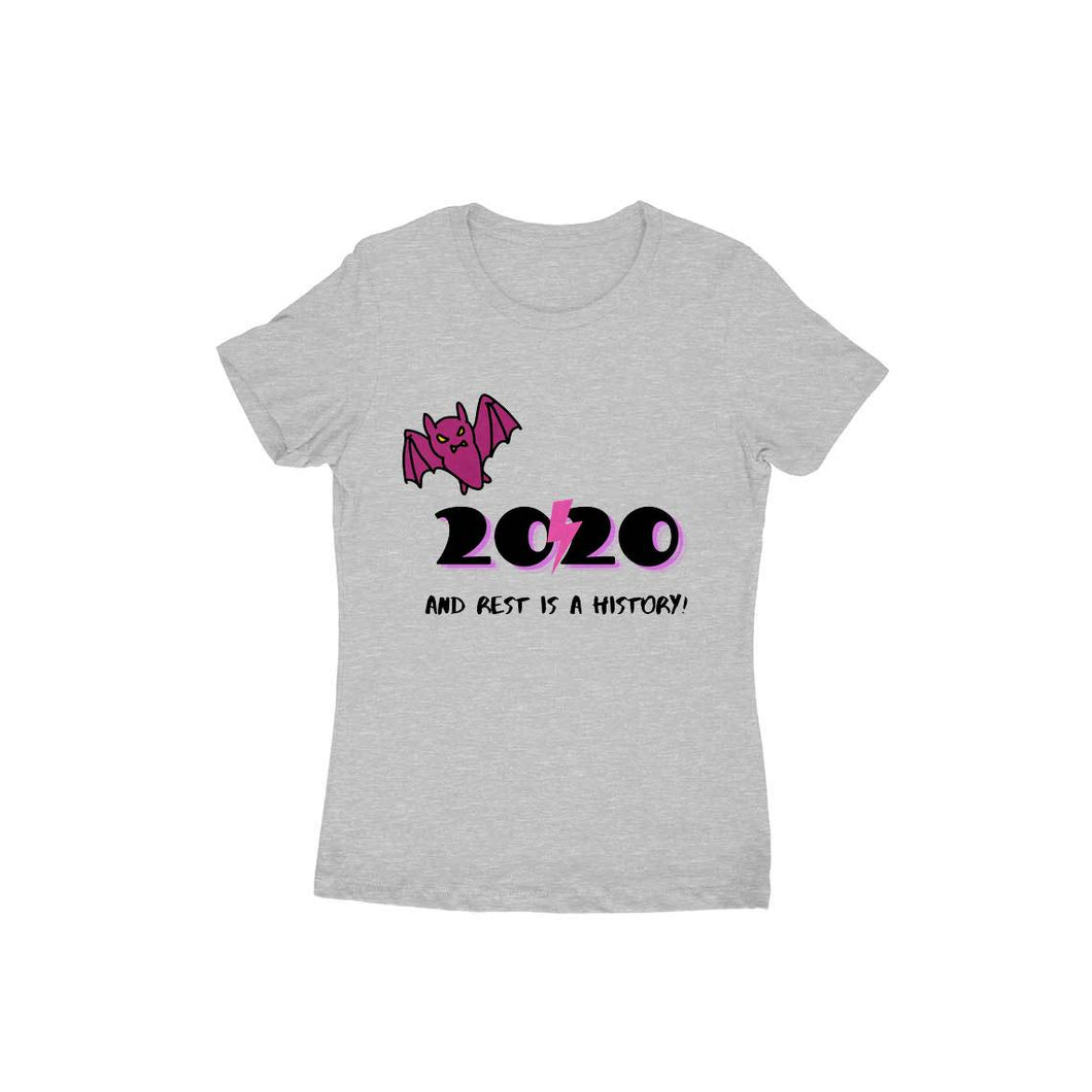Bat and 2020 - Short-Sleeve Women's T-Shirt - Tee-Zoo